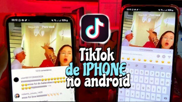COMO TER TIKTOK DO IPHONE NO ANDROID | Khayla Lima