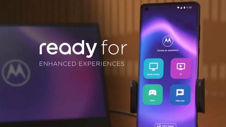 Celulares Motorola com experiência de PC